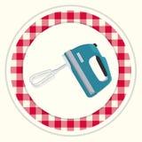 Kuchenna melanżer ikona Zdjęcie Royalty Free