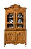Kuchenna sosna rzeźbiący dresser stary rocznik Obraz Stock