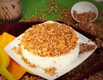 Kuchennachtischtorte stockfoto