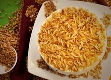 Kuchennachtischtorte lizenzfreies stockfoto