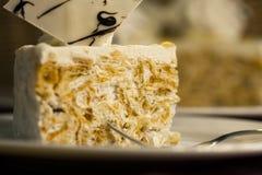Kuchennachtischtorte lizenzfreie stockfotografie