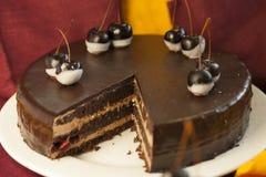 Kuchennachtischtorte lizenzfreie stockfotos