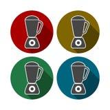 Kuchenne blender ikony ilustracji