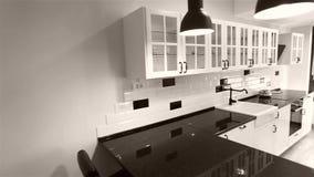 Kuchenni gabinety, wideo żuraw używać zbiory wideo