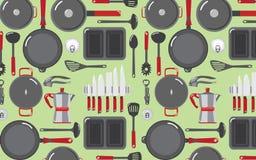 Kuchenni narzędzia Tupoczą tła 1 Obraz Royalty Free