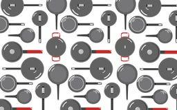 Kuchenni narzędzia Tupoczą tła 2 Obrazy Stock