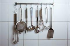 kuchenni narzędzia Fotografia Royalty Free