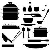 Kuchenni narzędzia ilustracja wektor