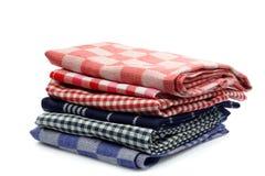 kuchenni ręczniki Obrazy Royalty Free