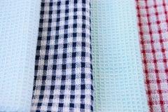 Kuchenni ręczniki Zdjęcia Royalty Free