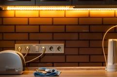 Kuchenny życie lub dlaczego być dobrym gospodynią domową fotografia stock