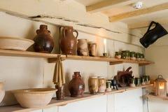 Kuchenny ceramics Fotografia Royalty Free