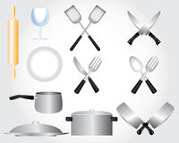 Kuchenny elementu projekt Zdjęcia Stock