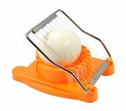 Kuchenny jajeczny slicer zdjęcie stock