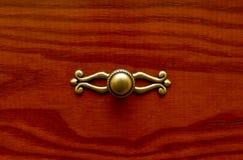 Kuchenny kreślarza drewna drzwi Zdjęcia Royalty Free