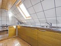 kuchenny loft fotografia stock