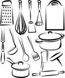 kuchenny naczynie royalty ilustracja