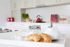 kuchenny nowożytny nowy dom miejski Obraz Stock