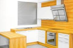 kuchenny nowy drewno Zdjęcie Stock