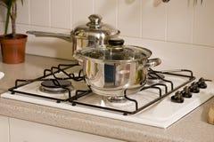 kuchenny nowy materiał zupełnie Zdjęcie Stock