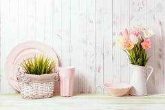 Kuchenny stołowy wierzchołek Fotografia Stock