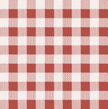 Kuchenny tablecloth wzór. Zdjęcia Stock