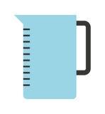 kuchenny teapot odizolowywający naczynie ikony projekt Obrazy Stock