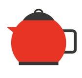 kuchenny teapot odizolowywający naczynie ikony projekt Zdjęcie Stock