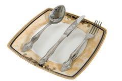 kuchenny ustalony naczynie Zdjęcie Royalty Free