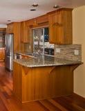 Kuchenny wnętrze. Obraz Stock