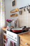 Kuchenny wnętrze Fotografia Stock
