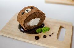 Kuchenrolle lizenzfreie stockbilder