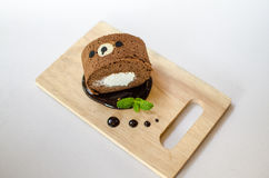 Kuchenrolle lizenzfreies stockfoto