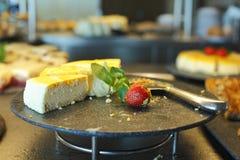 Kuchenscheiben Lizenzfreie Stockfotografie
