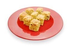 Kuchenstücke Stockfotos