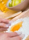 Kuchenvorbereiten Stockfotos