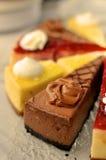 Kuchenzusammenstellung Stockbild