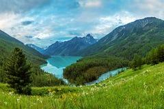Kucherla lake cloudy morning Stock Images