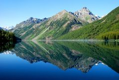 Kucherlinskoe lake, Altai Royalty Free Stock Images