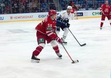 A. Kucheryavenko (55) start attack Stock Image