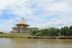 Kuching, Bornéo Sarawak Photo stock