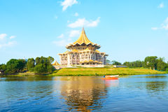 Kuching, Borneo (Malesia) Immagine Stock Libera da Diritti