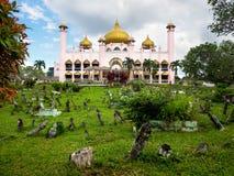 Kuching City Mosque in Kuching, Sarawak, Malaysia Royalty Free Stock Photo