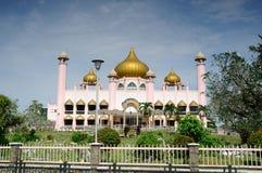Kuching Grodzki meczet a K masjid Bandaraya Kuching w Sarawak, Malezja Zdjęcie Stock