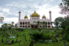 Kuching Grodzki meczet a K masjid Bandaraya Kuching w Sarawak, Malezja Fotografia Royalty Free