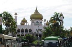 Kuching Grodzki meczet a K masjid Bandaraya Kuching w Sarawak, Malezja Obrazy Stock