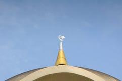 Kuching Grodzki meczet a K masjid Bandaraya Kuching w Sarawak, Malezja Zdjęcie Royalty Free