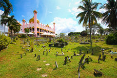 Kuching meczet obrazy royalty free