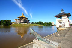 Kuching Riverside Royalty Free Stock Images