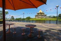 Kuching riverside park, Sarawak, Malaysia Royalty Free Stock Photos